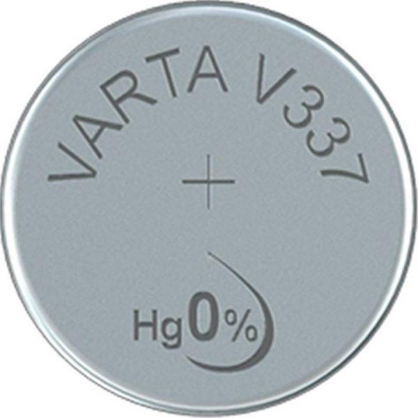 Silberoxid-Knopfzelle Typ SR416 / V337 von Varta